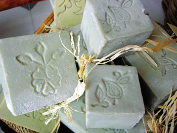 Scented bath soaps at Hammam Ltd.