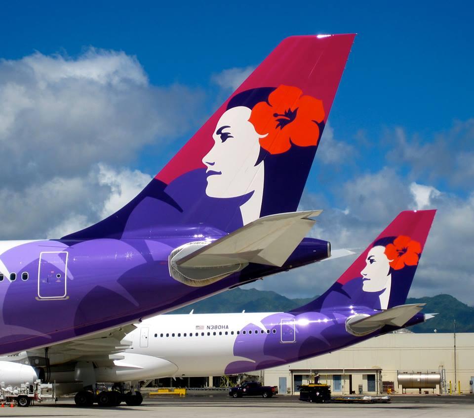 Hawaiian Airlines has its primary hub in Honolulu, Hawaii.