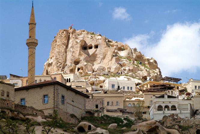 Rock of Ages - Üçhisar Castle