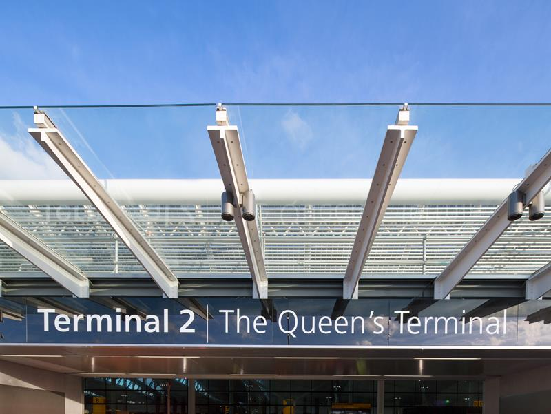 Heathrow Terminal 2 has been named The Queen's Terminal.