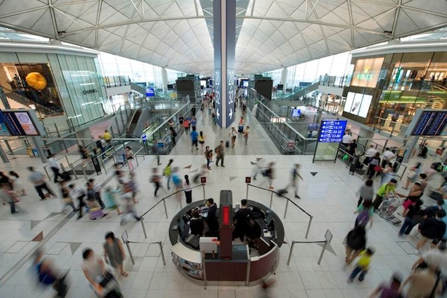 Hong Kong International airport is one of six airports in Asia that ranked in the top 10.