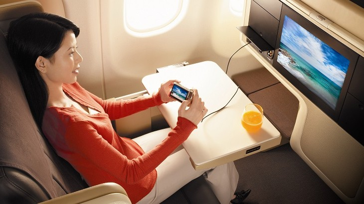 At the affordable cost of US$3, the messaging pass provides a more economical option for flight passengers.