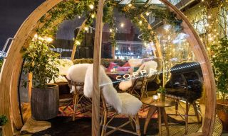 Dine Inside These Igloos in London
