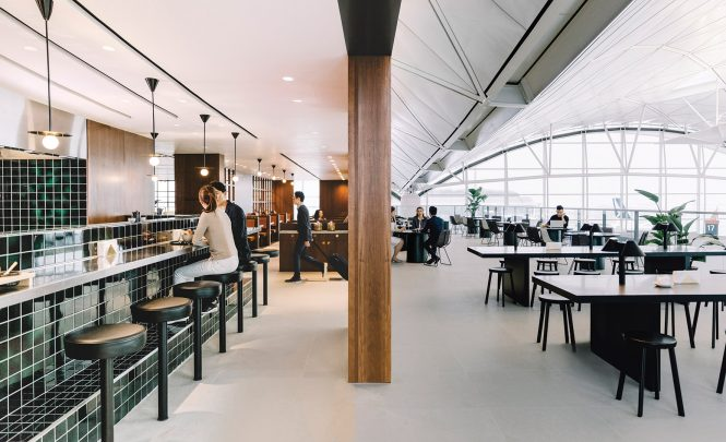 Hong Kong Airport Cathay Pacific's Newest Lounge