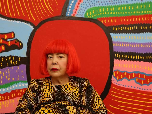 Yayoi Kusama's Life is the Heart of a Rainbow.