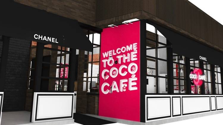 Chanel's Coco Cafe in Coffee Academics.