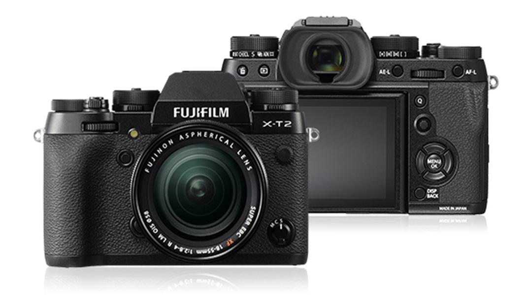 Fujifilm X100f 'mirrorless'.