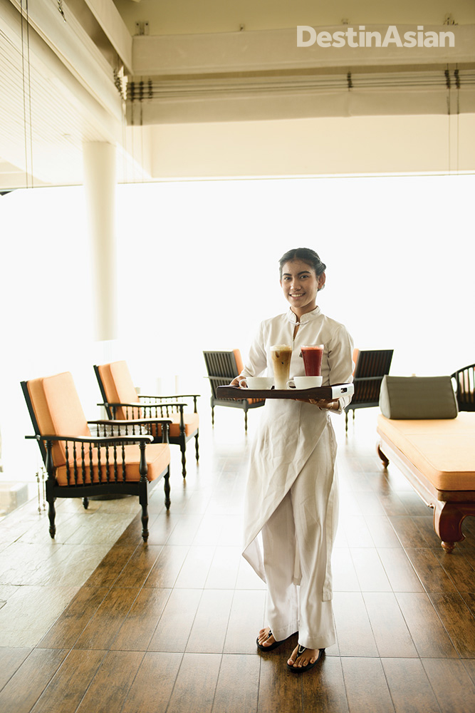 Service with a smile at the InterContinental Samui.