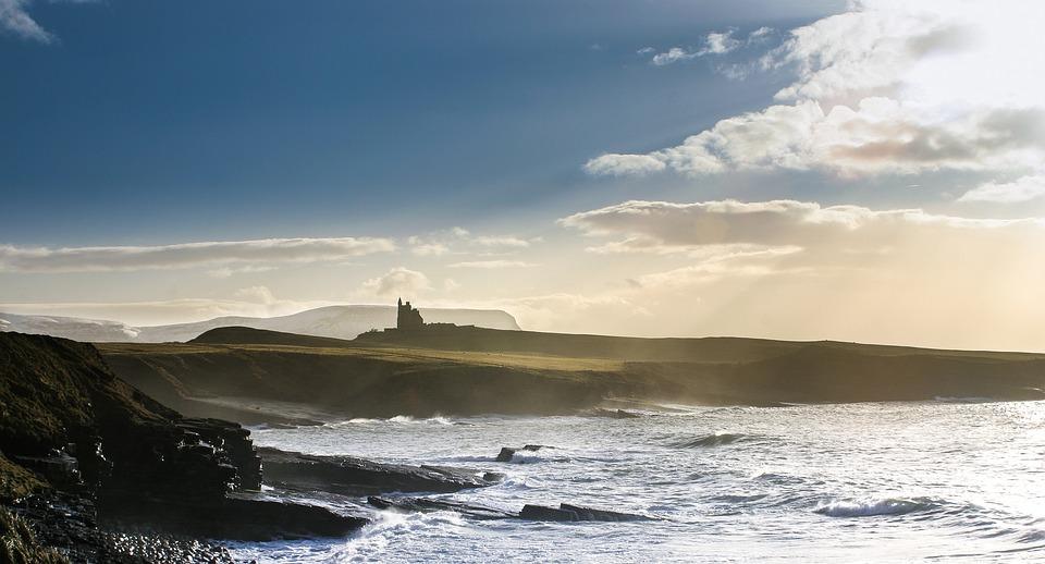 A view of Bundoran's serene waves.