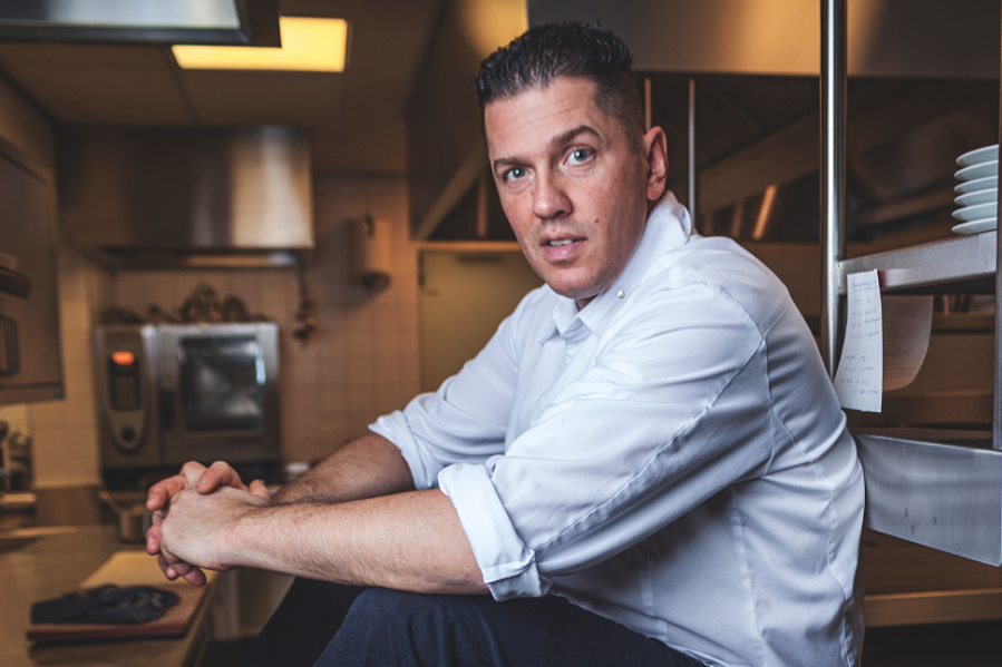 Chef Jacob Jan Boerma is known for