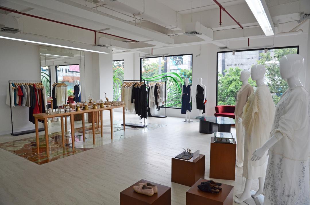 Inside ARA concept store in Kemang.