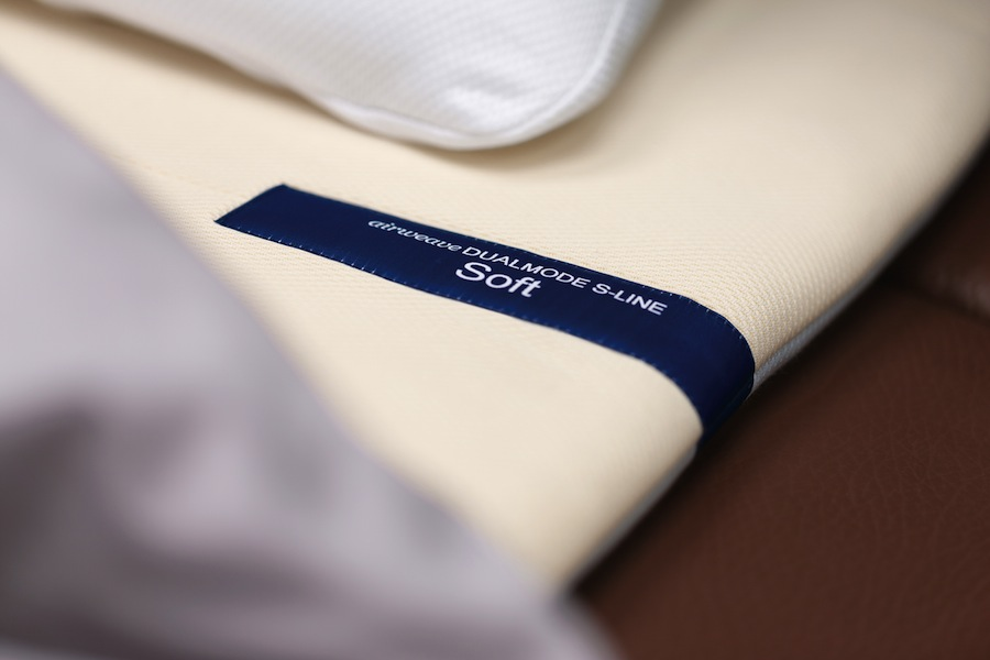 One side of the mattress has a soft, supple feel, while the other side is firmer for extra support.