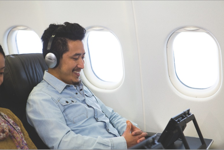 Jetstar passengers can generate custom 20-song playlists. Photo by Jetstar Asia