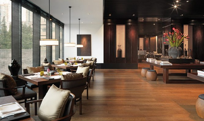 Jing'An restaurant aims to emphasize locally sourced produce.