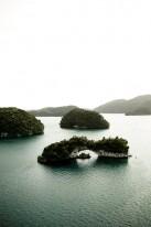 Among the Rock Islands.