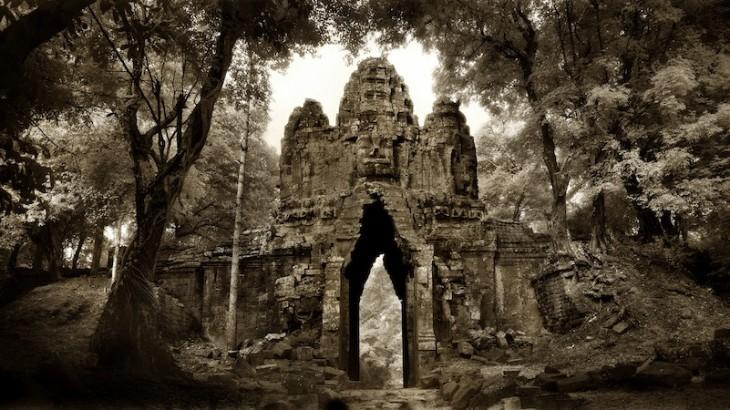 'West Gate - Angkor Thom' by John McDermott.