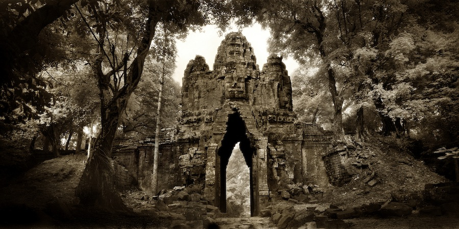 'West Gate - Angkor Thom' by John McDermott.