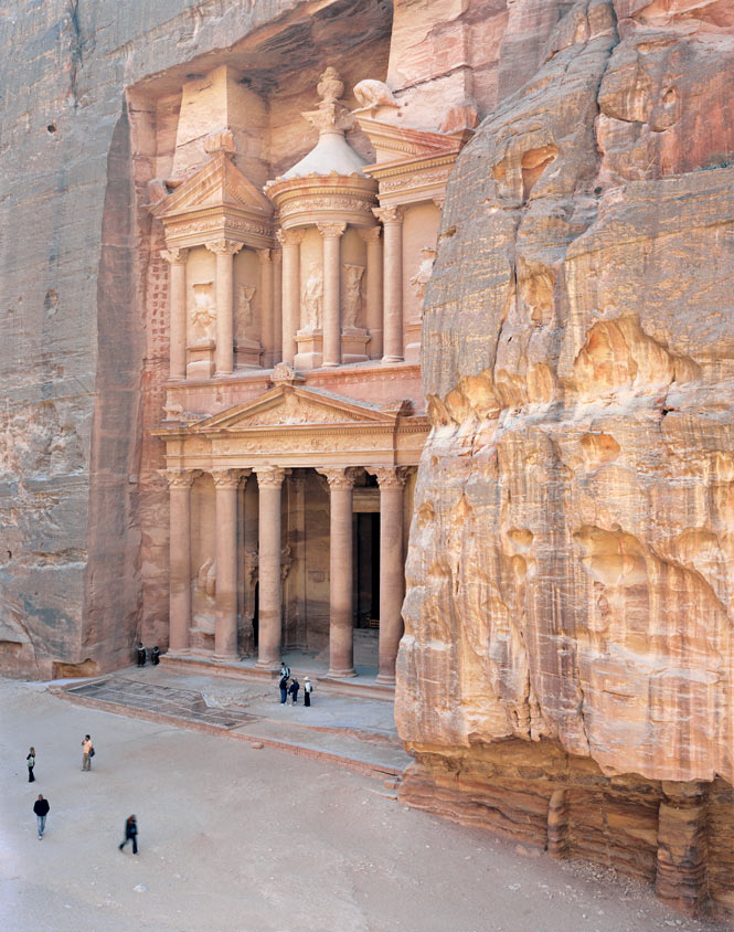 Chiseled out of the rock more than 2,000 years ago by the Nabataeans, the Treasury is Petra's most famous site.