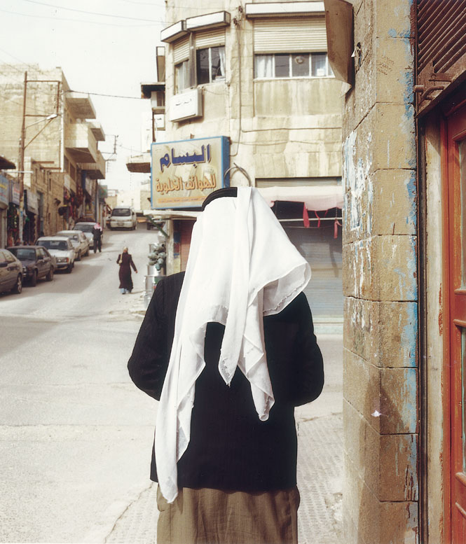 On the streets of Madaba.