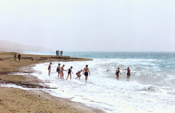 Tourists on the eastern shores of the Dead Sea, whose salt-laden waters sit more than 400 meters below sea level.