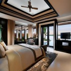 One of the new Banyan Tree's guest rooms.
