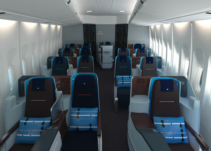 The business cabin now has 35 seats, down from 42.