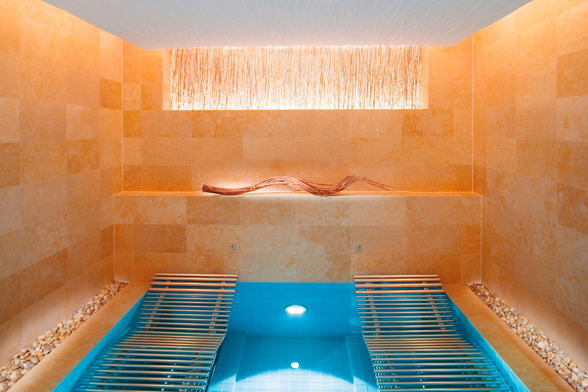 A luxurious bath in the Landmark Spa.