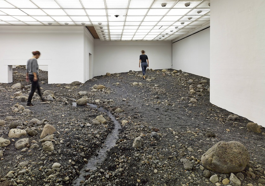 'Riverbed' will be on view until January 4, 2015.