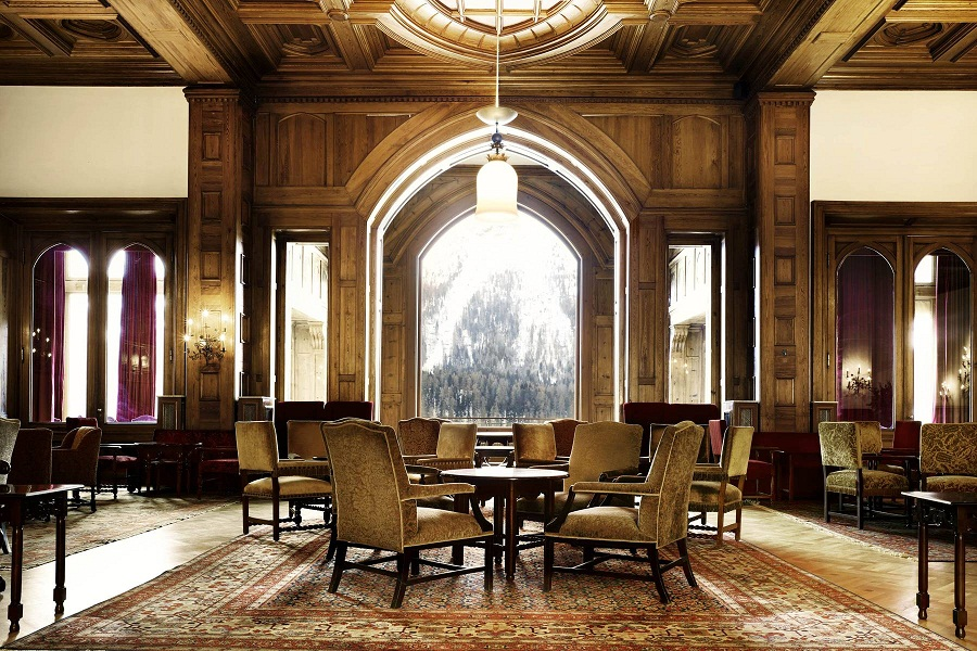 The hotel dates back to the 1800s, with aged wood outfitting its halls.