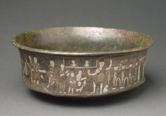 Bowl from Caesarea Palaestinae. Photo courtesy of the museum.