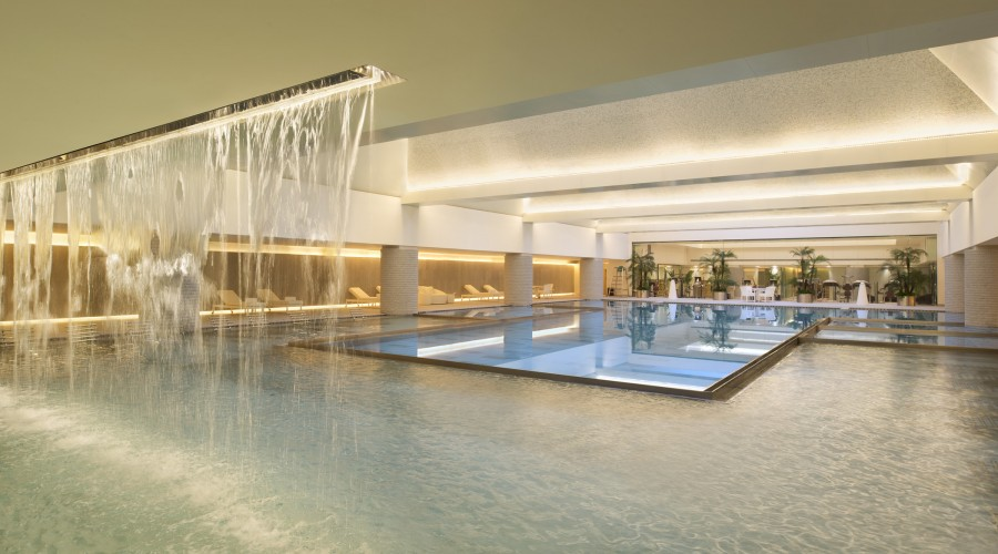 The pool at Twelve at Hengshan.