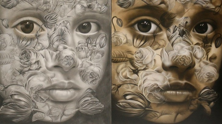 One of the works by Aleah Angeles from the Philippines that will be displayed during the exhibition.