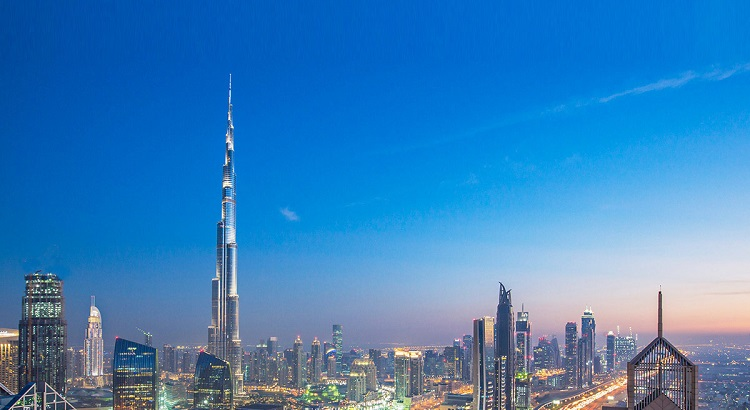 The Burj Khalifa stands at  829.8 m, making it the tallest artificial structure in the world.