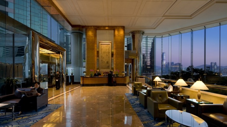 JW Marriott Hotel Hong Kong Lobby