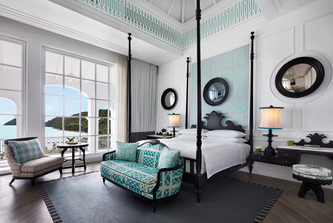 A Turquoise Suite at the JW Marriott in Phu Quoc, Vietnam's largest island.