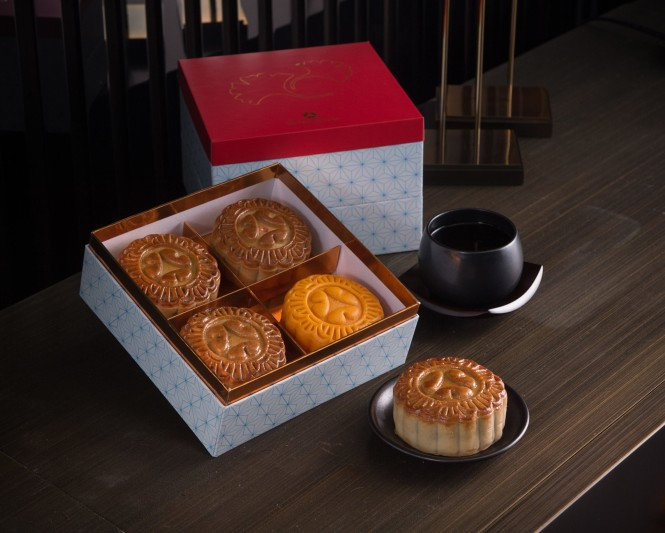 The Okura Prestige's mooncake assortment