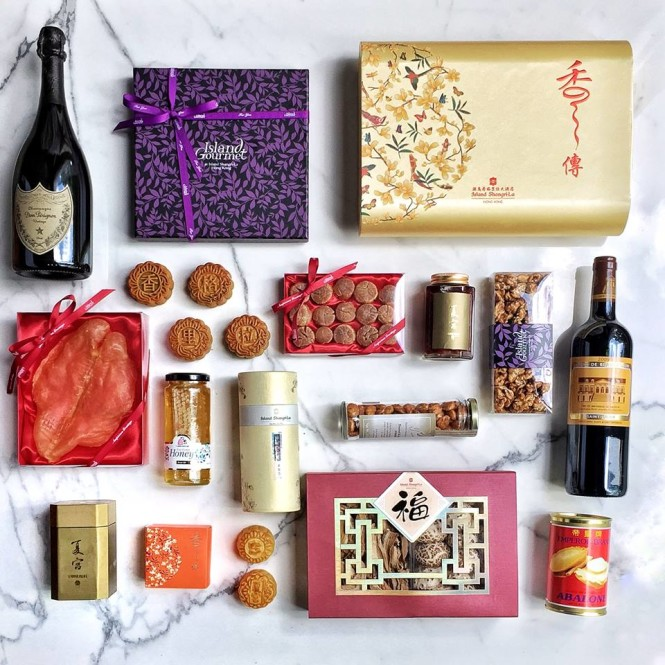One of Island Shangri-la's festive Mid-Autumn hampers