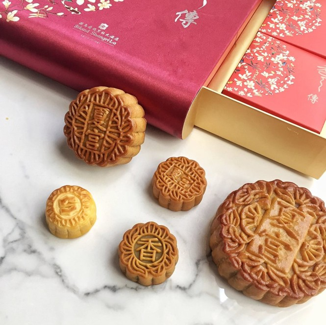The Island Shangri-la's mooncake selection