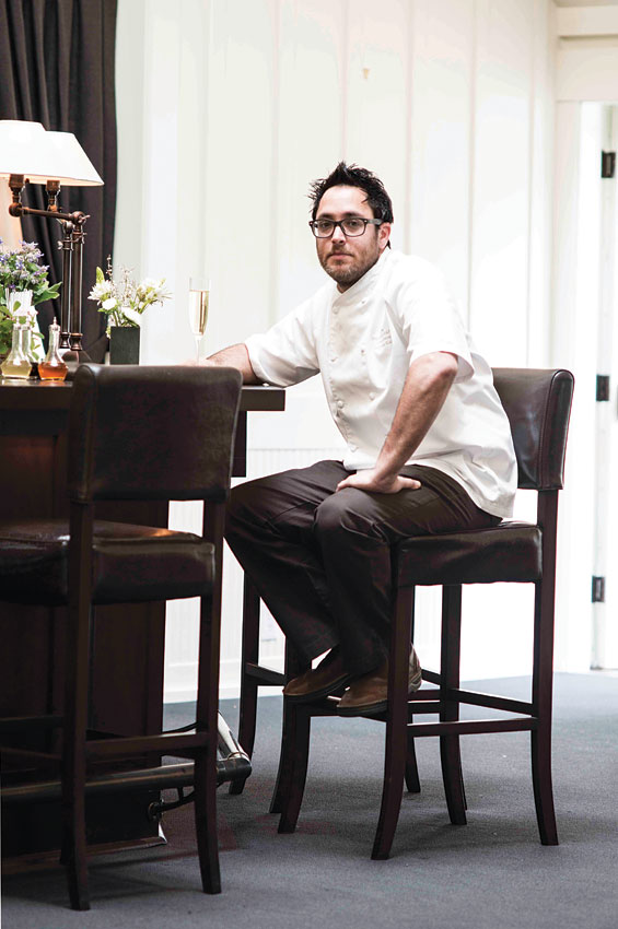 Christopher Kostow helms one of the Napa Valley's two three-Michelin-star restaurants.