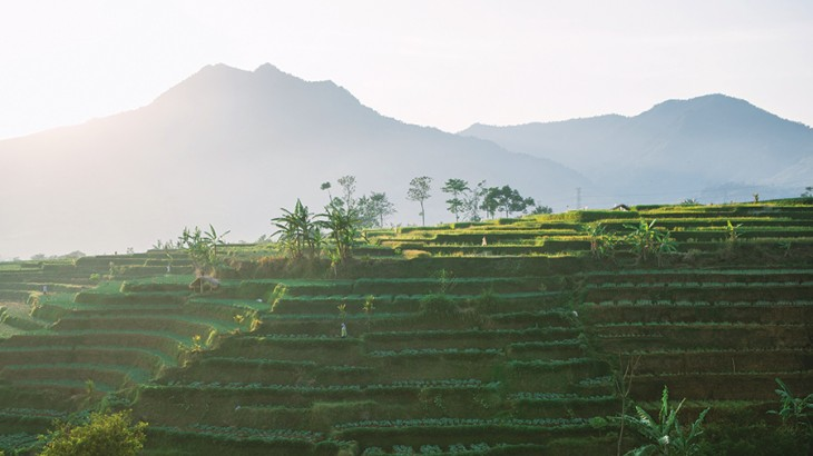 Mountains of Garut Regency, West Java