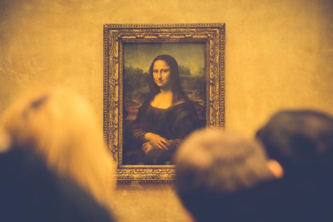 Leonardo da Vinci's Mona Lisa.