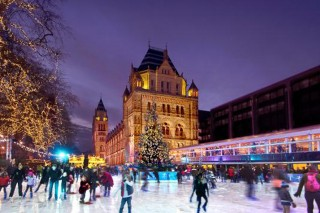 London, United Kingdom: National History Museum Ice Rink (visitlondon.com)