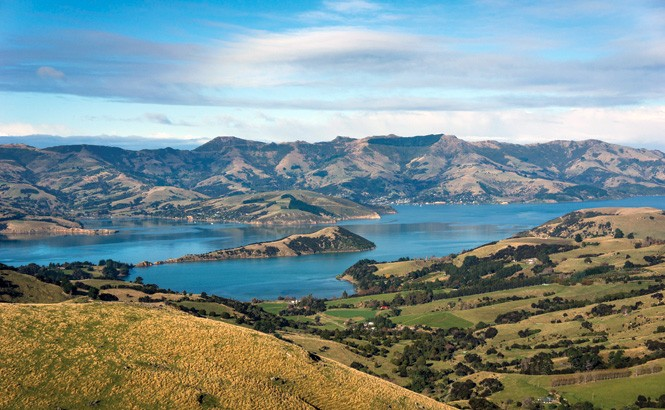 Canterbury region spoils visitors with sweeping scenery.
