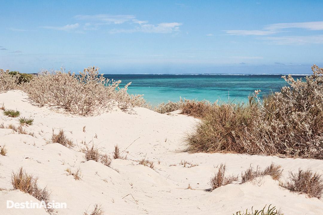 Sand dunes in Cape Range National Park.