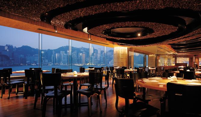 Nobu restaurant at the InterContinental Hong Kong.