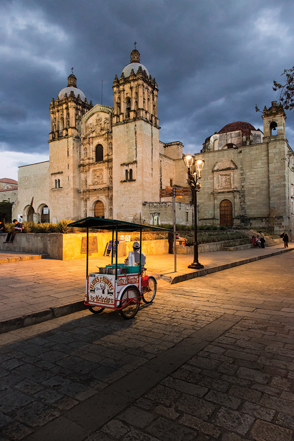 Consecrated in the early 17th century, Oaxaca's Church of Santo Domingo is among the most lavishly decorated Baroque ecclesiastical buildings in Mexico.