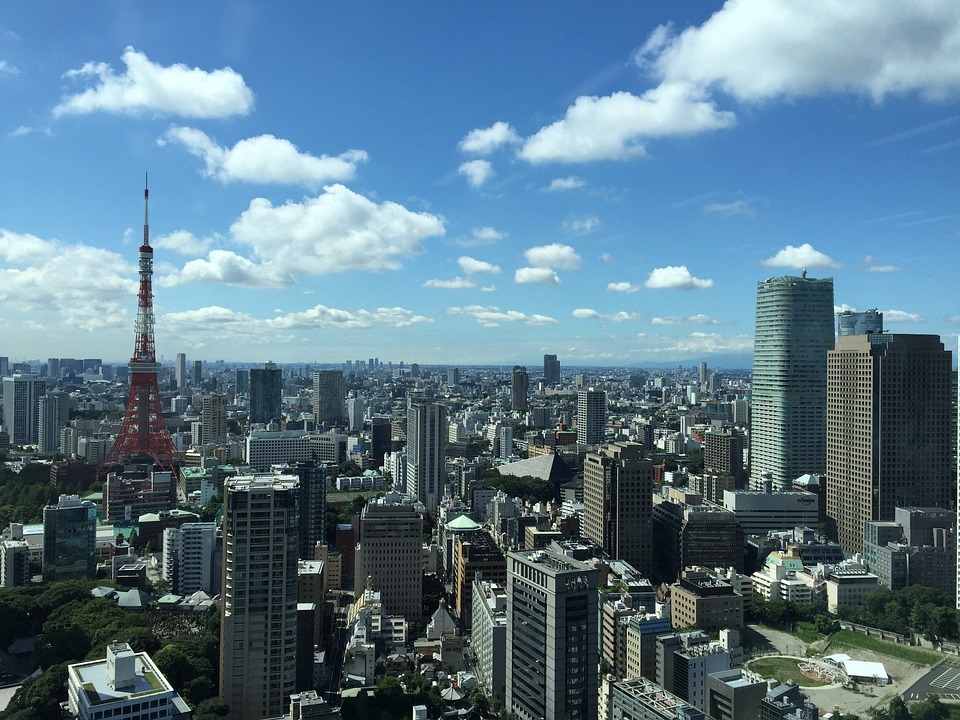 Travelers from New Zealand will be in close proximity to downtown Tokyo.