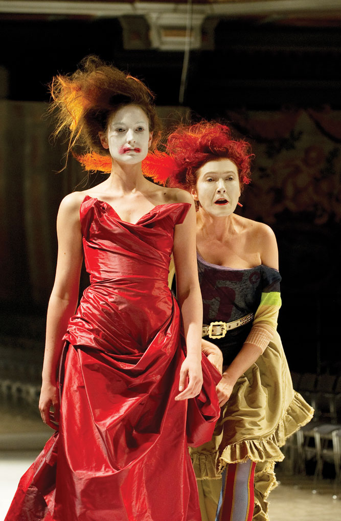 Vivienne Westwood meets Handel in a production of Semele Walk for the Sydney Festival.