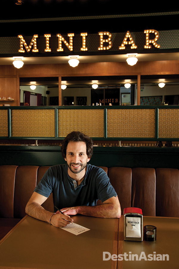 Chef Jose Avillez at Mini Bar, the latest addition to his restaurant empire.