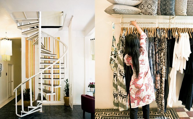 Stylish Stores along Phnom Penh